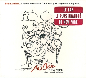 Mark Gorbulew-Au Bar CD cover(french version)