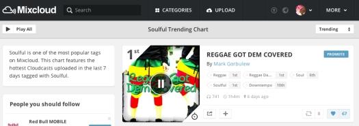 #1 Soulful Chart Reggae